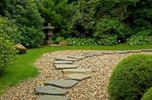 Создание в ландшафтном дизайне декоративных садовых дорожек